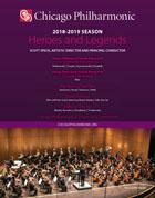 Chicago Philharmonic 2018-2019 Fall