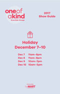 One of a Kind Show & Sale Chicago Guide 2017 Holiday