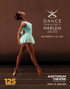 Auditorium Theatre 2014-2015 Dance Theatre of Harlem