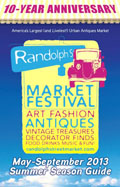 Randolph Street Market 2013 May to September