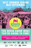 Randolph Street Market 2017 May to September