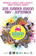 Randolph Street Market 2015 May to September
