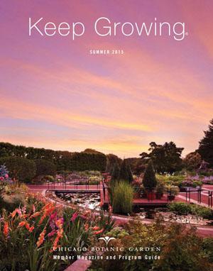 Chicago botanic garden member 39 s magazine performance media for Chicago botanic garden membership